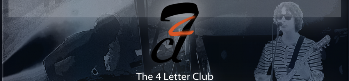The 4 Letter Club Blog